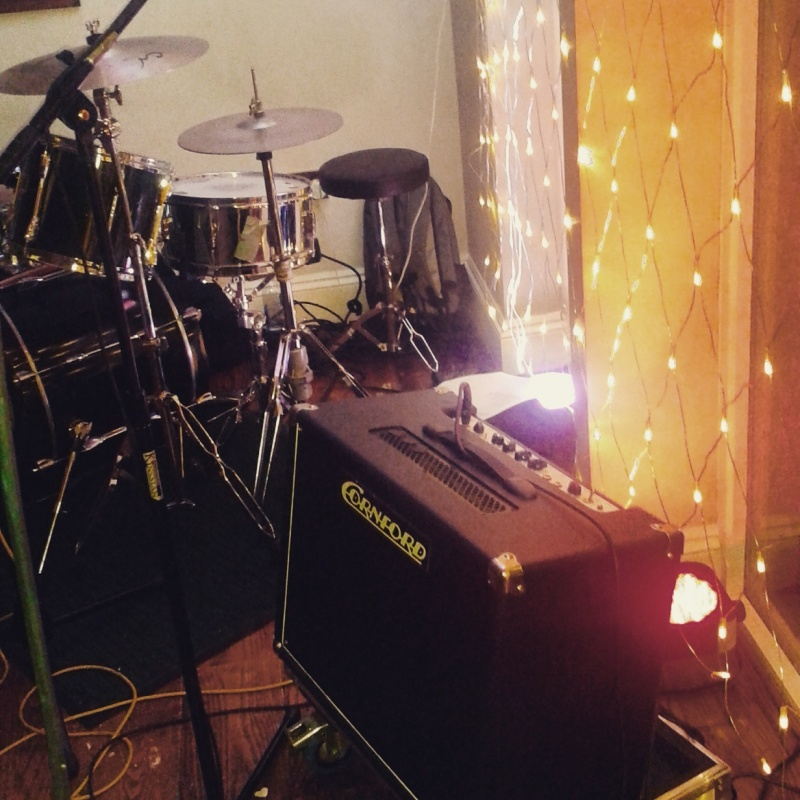 Amp and Drums
