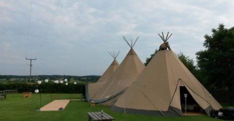 Tipi Wedding Yorkshire