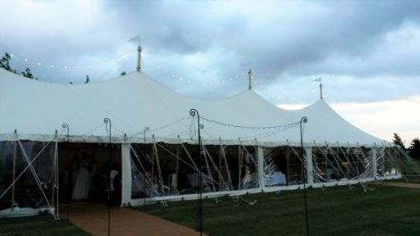 Marquee wedding East Yoekshire